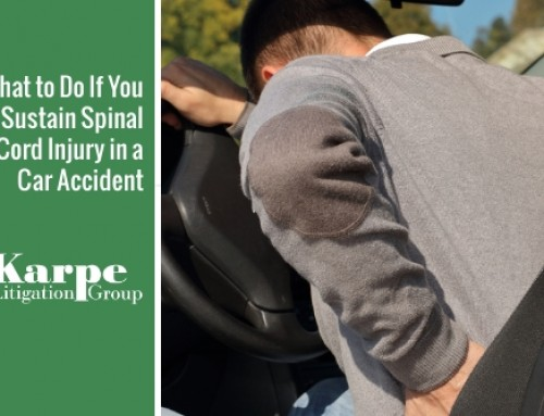 What to Do If You Sustain Spinal Cord Injury in a Car Accident