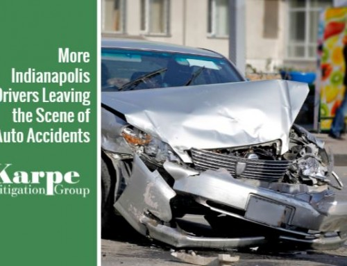More Indianapolis Drivers Leaving the Scene of Auto Accidents